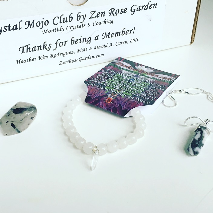 Crystal Mojo Club by Zen Rose Garden Subscription Box Review